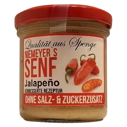 Glas Senf Jalapeno - Senf kaufen