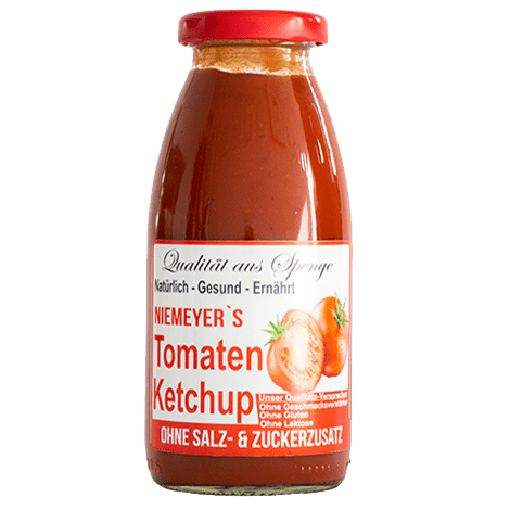 Glas Tomatenketchup - Saucen